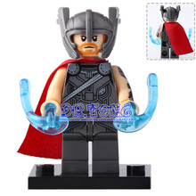 DR TONG Single Sale XH703 Thor Ragnarok 76088 Marvel Super Heroes Building Blocks Bricks Toys Children