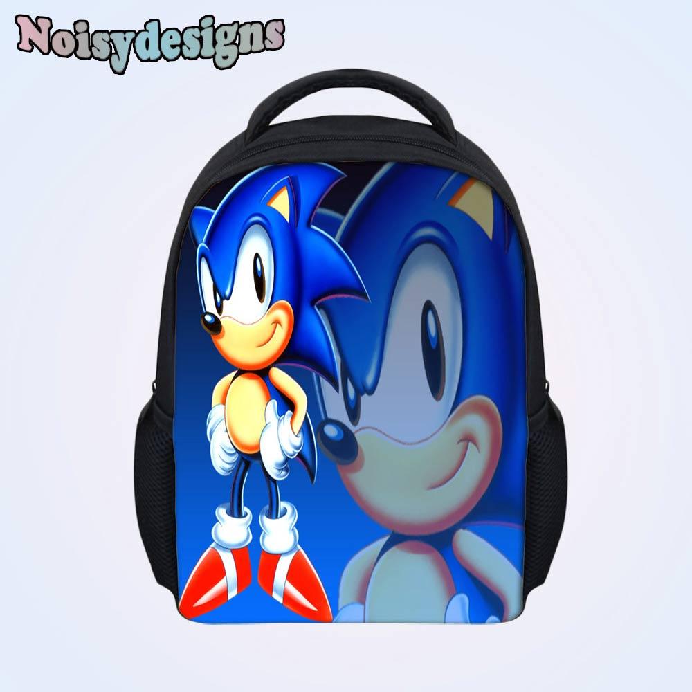 Children Backpack Sonic the Hedgehog Printed Baby Kids Preschool School  Book Bags Fashion Small Bag Boys Girls Schoolbag Mochila-in Backpacks from  Luggage ... b70d150add6fe