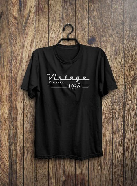 Cool T Shirts Designs Best Selling Men 80th Birthday Gift