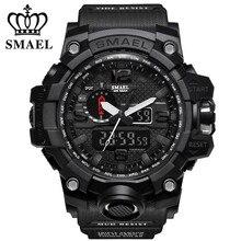 Купить с кэшбэком New Top Luxury G Style Shock Digital Watch Men Sport Military Watches Electronic Clock Male Waterproof Wristwatch Waterproof 50M