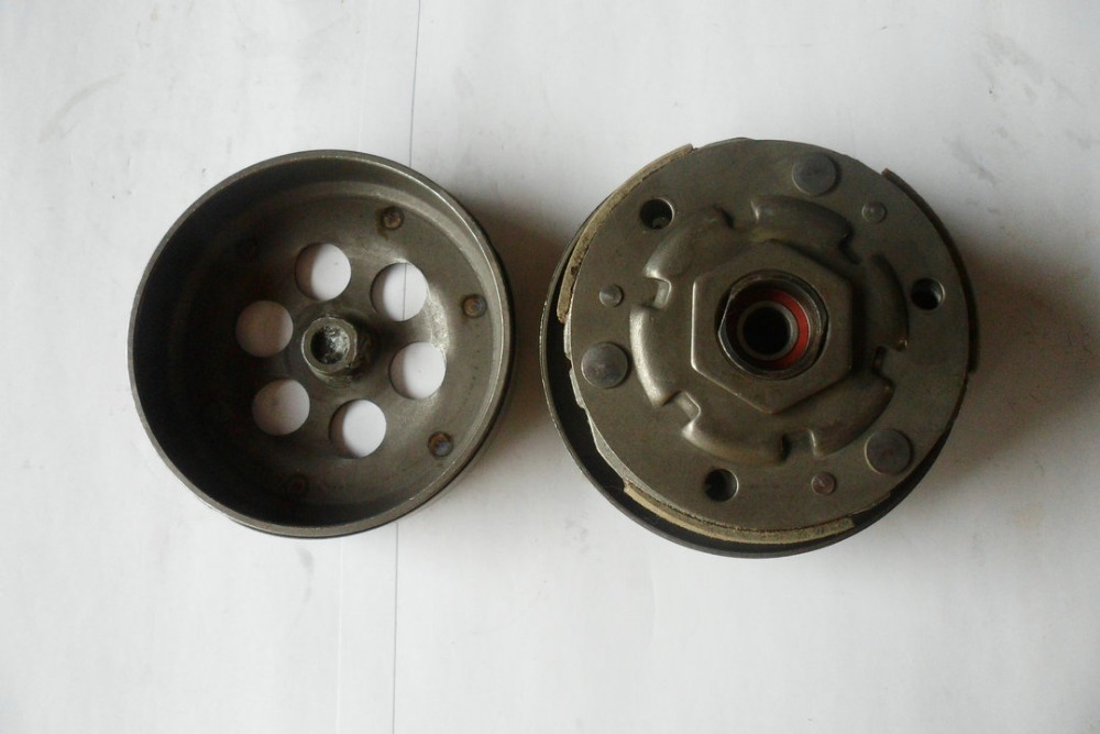 ФОТО New Clutch Pulley Assembly YAMAH JOG XC100 RSZ100 ZY100  Moped Scooter 4 Stroke