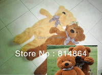 Free shipping by Fedex Christmas gifts 5pcs/lot 100CM teddy bear skins empty 4colors Teddy bear plush toys coat