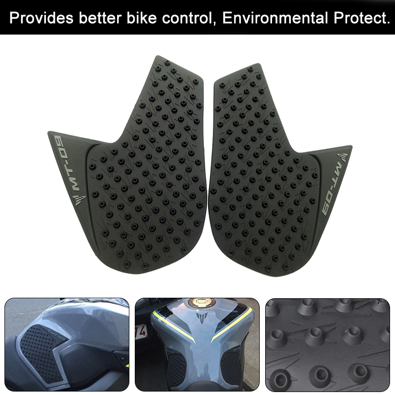 Tank Traction Pad Side Gas Knee Grip Protector for Yamaha MT-09 FZ-09 2014-2016