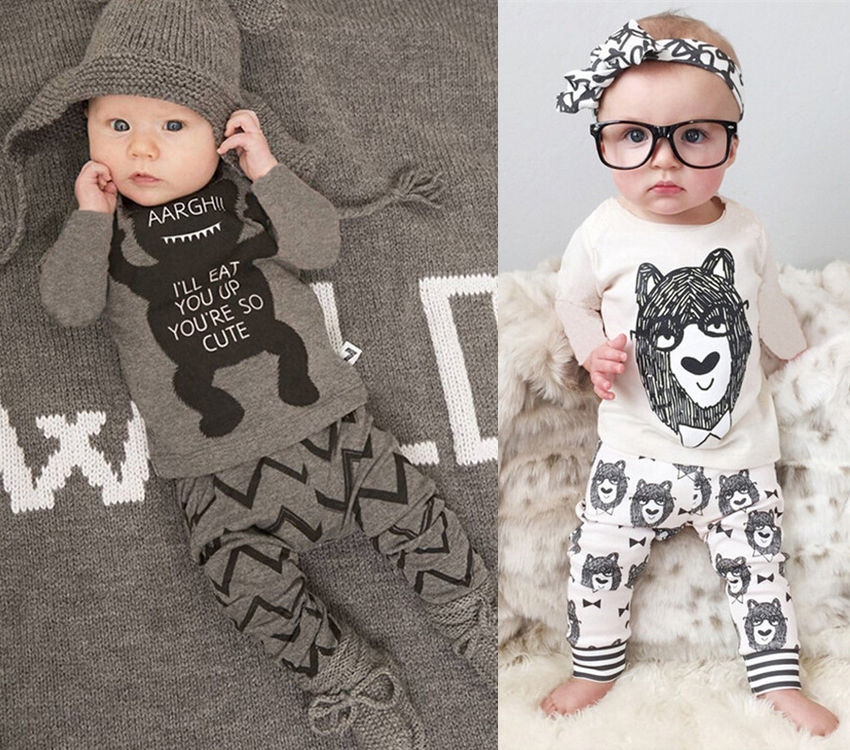 068f4102d302 Detail Feedback Questions about Babies Clothing Set Baby Boy Girl ...