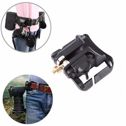 2pcs DSLR Camera Hard Plastic waist belt buckle button  camera hanger Belt Clip  Mount Holster Holder fast loading free shipping 6