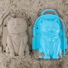 Забавный пляжный песок игра 3D мультфильм Пингвин плесень пляж снег модель песка детская модель игрушки детский открытый пляж Playset