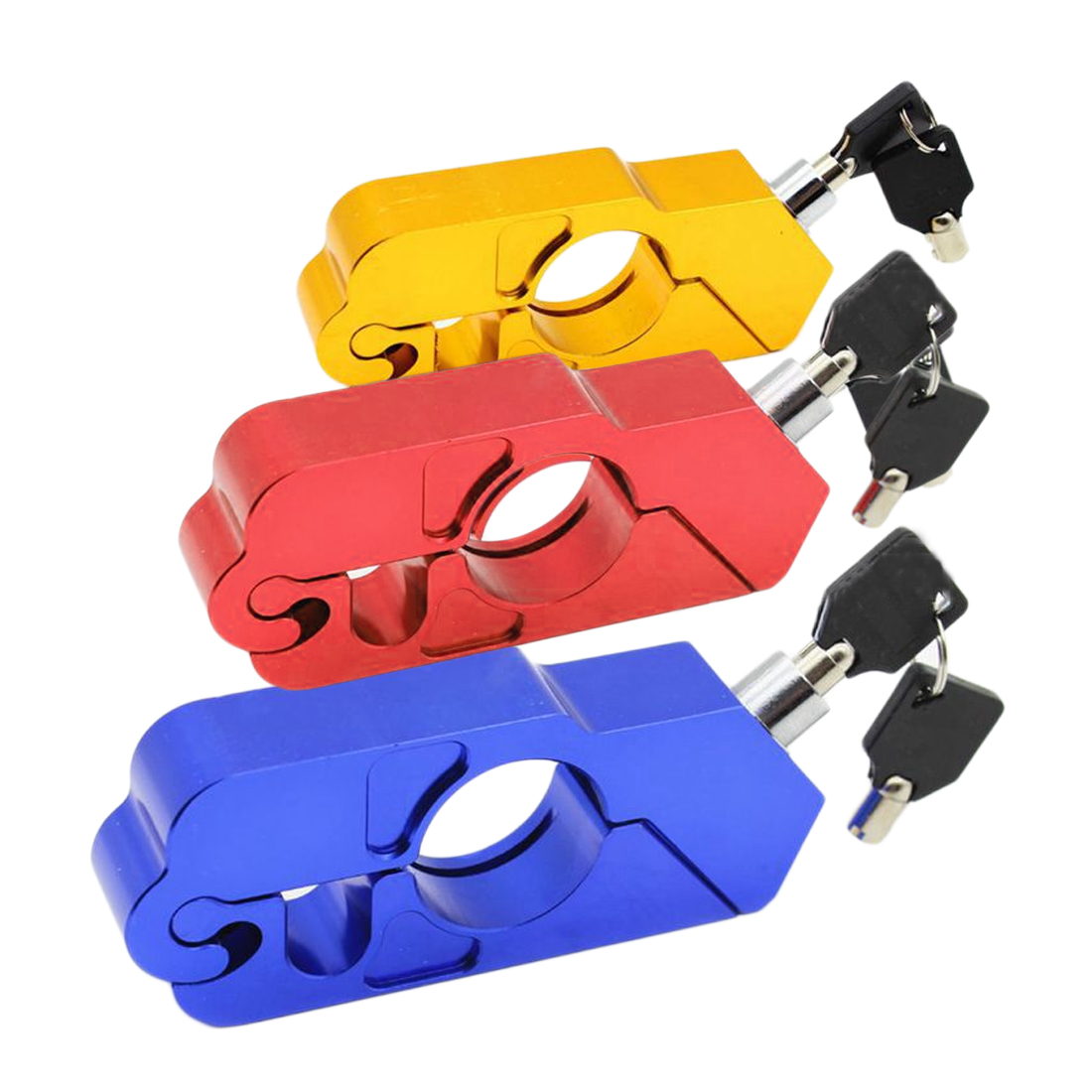 High Motorcycle Handlebar Lock Scooter ATV Brake Clutch Security Safety Theft Protection Locks For Honda Kawasaki Yamaha Piaggio high motorcycle handlebar lock scooter atv brake clutch security safety theft protection locks for honda kawasaki yamaha piaggio