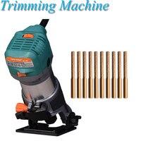 220V Stone Countertop Sewing Machine Seam Trimming Machine Stone Corner Polishing Joint Artifact RO701