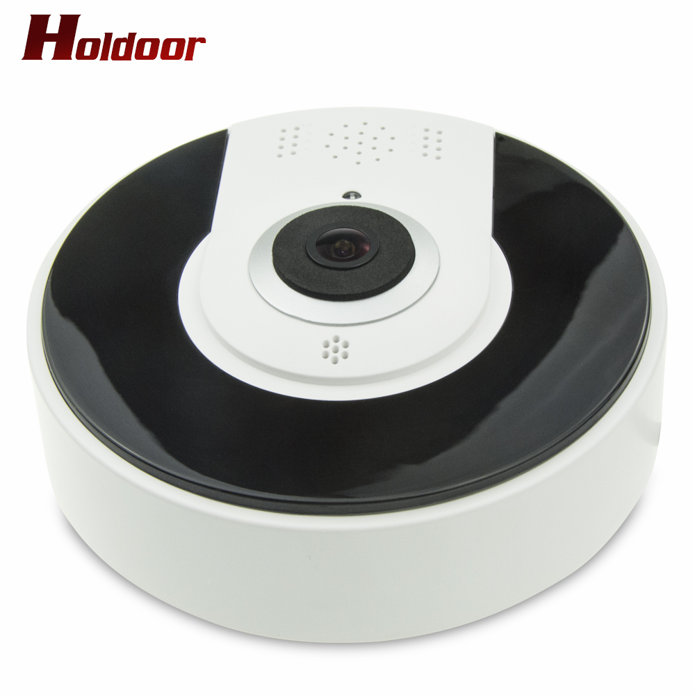 Holdoor 360 Degree VR Panorama Camera Home Security IP Camera 1.3MP HD Night Vision Webcam CCTV Camera Baby Monitor vr Camera майка борцовка print bar брутальный медведь