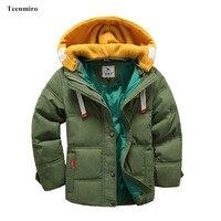 ילדי מותג מעיל מעיל תינוק חורף בני מיני תלבושות ברווז למטה מעילי מעיל ילדי מעיל הלבשה עליונה פעוט חליפת שלג