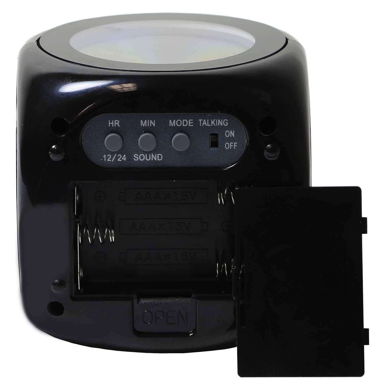 Màn Hình LED Hiển Thị Đèn LED Chiếu Đồng Hồ Điện Tử Để Bàn Đồng Hồ Báo Thức Kỹ Thuật Số Đồng Hồ Để Bàn Báo Lại Chức Năng Dây Trang Trí Nhà BTZ1