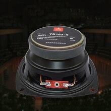 "8 ohm 50W Pure Bass Speaker 4 inch Speakers Full range 8R 105mm Audio Loudspeaker Horn 4"" Trumpet DIY 8ohm"