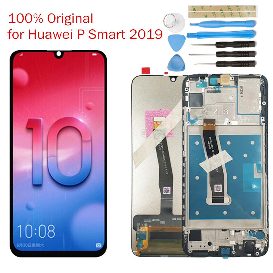 UVR For Huawei P Smart Screen Digitizer Assembly 2019 LCD Display 10 Touch
