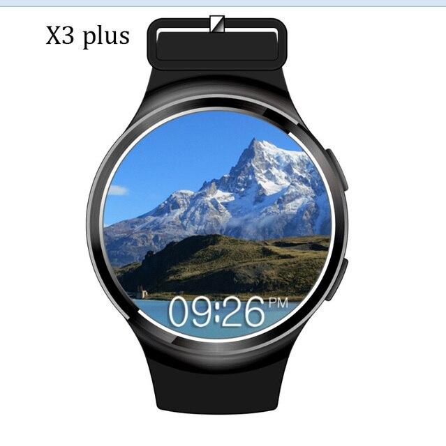 Novo x3 mais smart watch k9 finow mtk6580 andorid 5.1 1g + 8g PK I3 KW88 Pedômetro Rastreador De Fitness BT 3G Wifi Para iOS & Andorid telefone