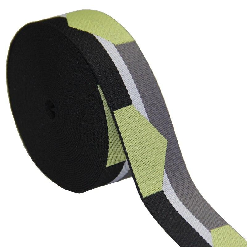 Nieuwe ontwerp hoge kwaliteit 50mm 2 inch polyester jacquard singels voor tas riem 1.4mm dikte voor tas riem-in Singel van Huis & Tuin op  Groep 1