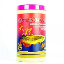 Дюйм-Золото большой Arowana бар корма красный дракон рыбы гиперхромные и увеличивающие тело плавающий гранулированный кормовой комплект питания