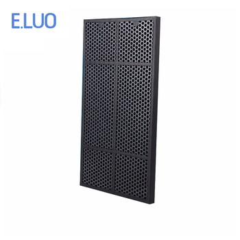 For Amway 101076TH air purifier part ,activated carbon filter with high efficiency to filter odor with the size of 587*300*20mm image