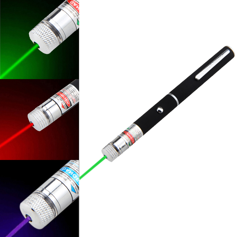 1mW Laser Pointer red green Purper Beam light Starry stars laser pointer Presenter Remote flashlight Hunting laser Sight device in Lasers from Sports Entertainment