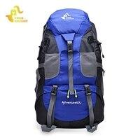 FREEKNIGHT 50L Backpack Outdoor Climbing Rucksack Waterproof Mountaineering Hiking Backpacks Molle Sport Bag Camping Bag 3