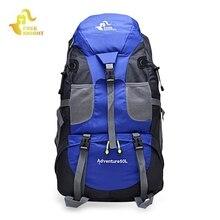 FREEKNIGHT 50L Sport Bag Backpack Outdoor Climbing Rucksack Waterproof Mountaineering Hiking Backpacks Molle Camping Bag 3 Color