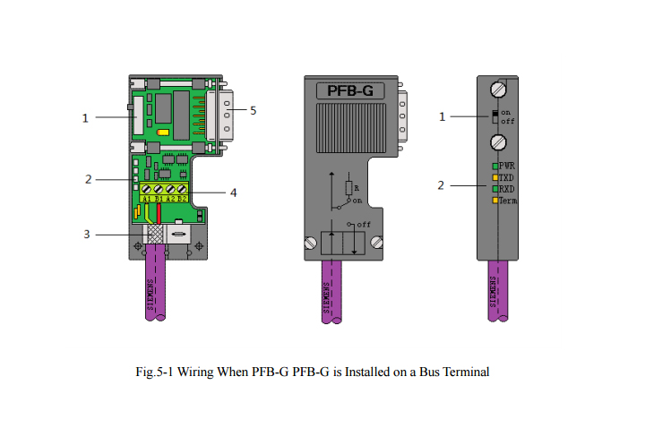 us $42 46 50% off isolated lightning protection profibus bus connector with led diagnostic indication for siemens s7 200 300 400plc network in profibus connector profibus connection profibus protocols wiring