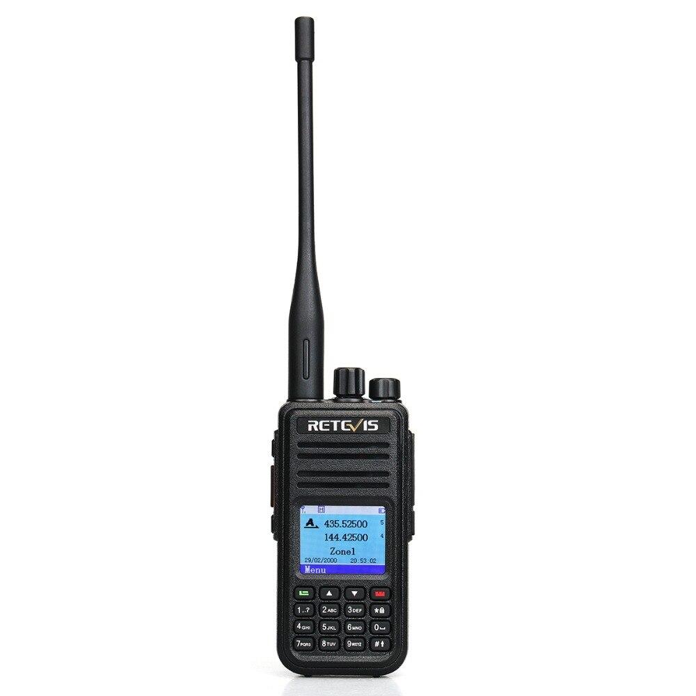 band digital Dual Band DMR Radio Digital Walkie Talkie 10pcs Retevis RT3S GPS DCDM TDMA Amateur Radio Hf Transceiver (2)