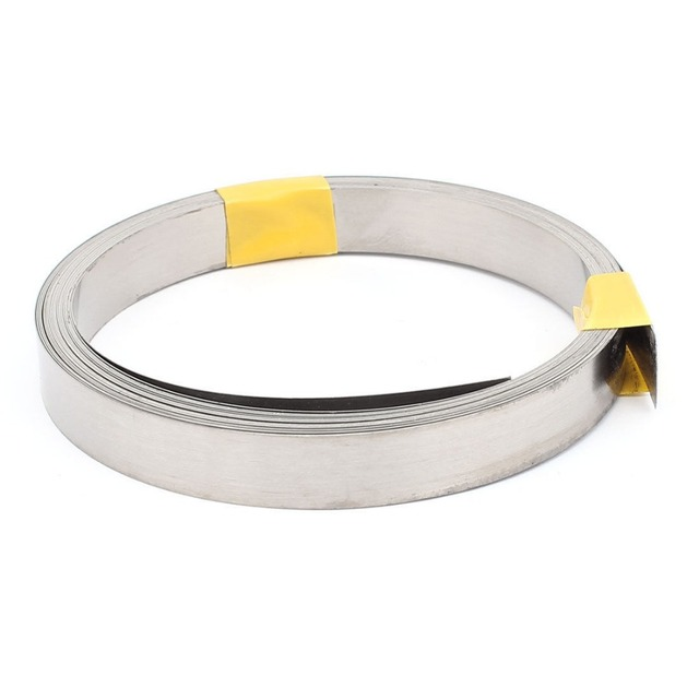 300M 0.2x6mm Nichrome Flat Heater Wire for Heating Elements-in Tool ...