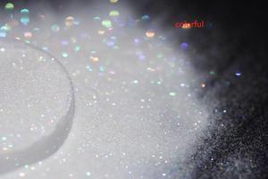 Image 3 - DIY 립스틱, 화장품, 네일 아트 공예 장식에 대 한 0.1mm 여분의 괜 찮 아 요 홀로그램 화이트 다채로운 Shinning 반짝이 스팽글 먼지