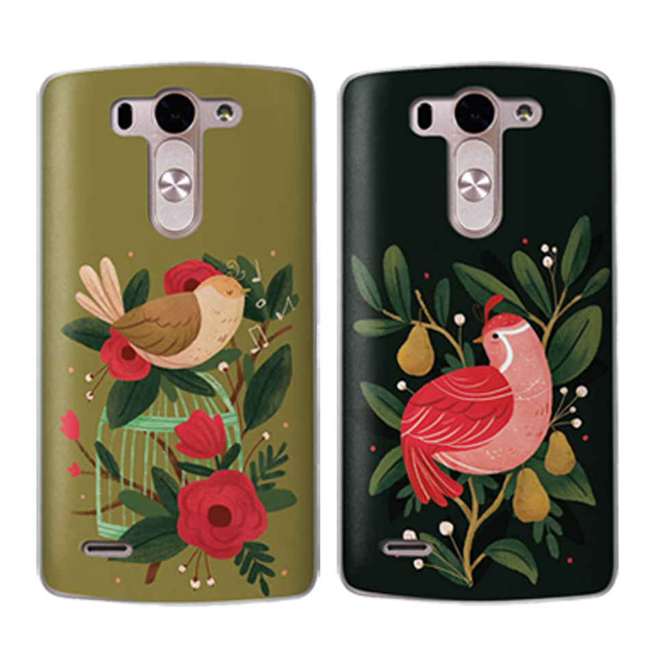 Animal Picture Phone Case For LG G6 Q6 Coque G4 G5 Q8 K8 K7 K4 K10 2017 XPower 2 Flower AnimalSoft TPU Silicone Cover Capinha in Fitted Cases from Cellphones Telecommunications