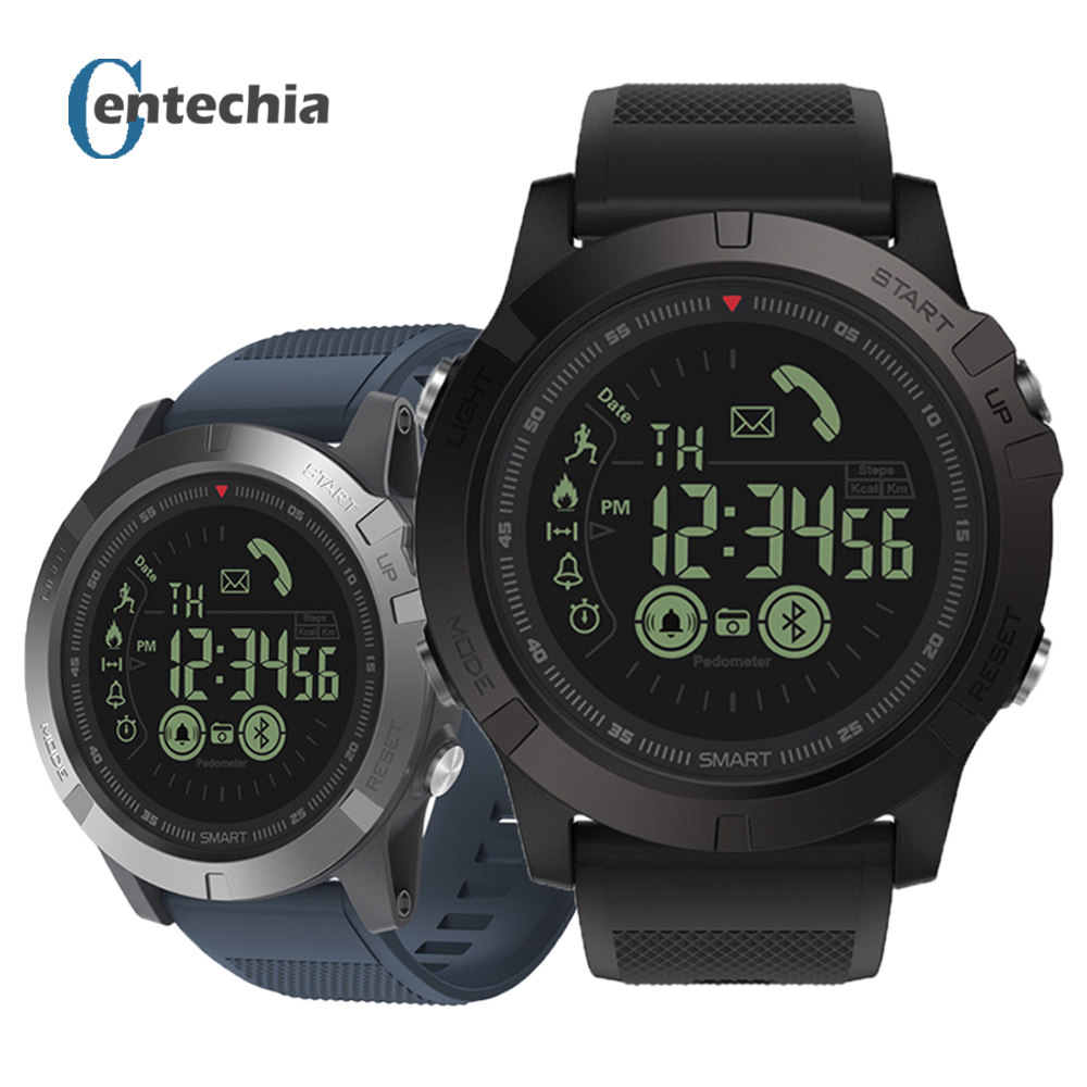Zeblaze VIBE 3 Men Smart Watch , T1 Tact Military Style Fitness Tracker Pedometer Smartwatch , Remote Camera Super Tough Watches