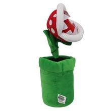 1 шт. 26 см Super Mario Bros Пиранья завод плюшевые игрушки Супер Марио плюшевые мягкие игрушки подарки для детей