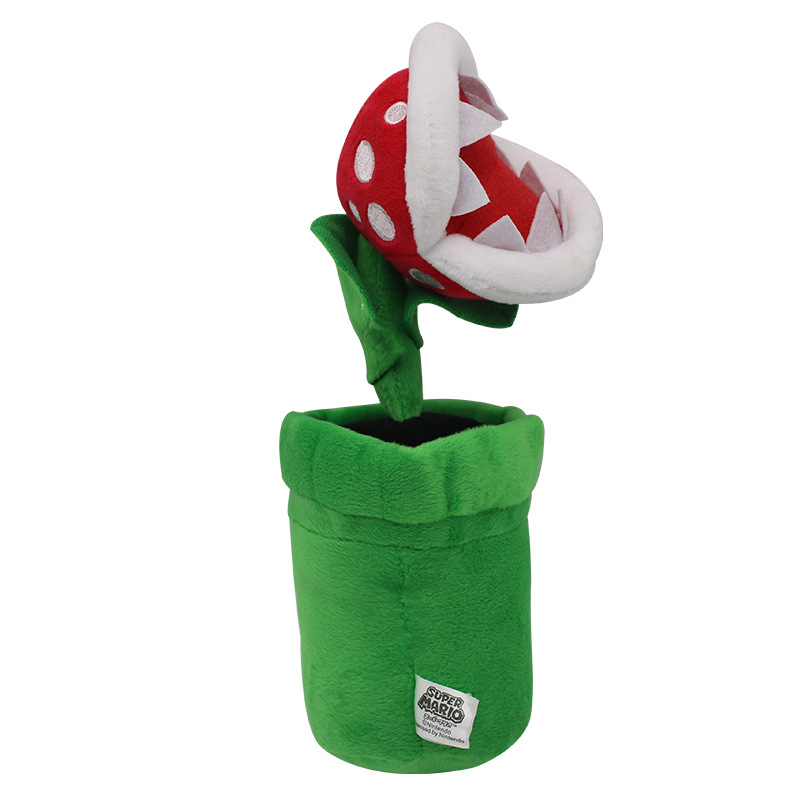 1pcs 26cm Super Mario Bros Piranha Plant Plush Toys Super Mario Plush Stuffed Toys Soft Toy Gifts For Kids Children