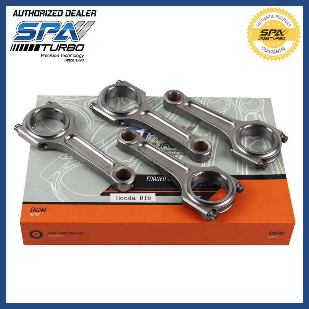 Pour JDM Honda Civic CRX D16 ZC SOHC VTEC D Moteur 4340 137mm x 19mm En Acier Forgé Un bielle