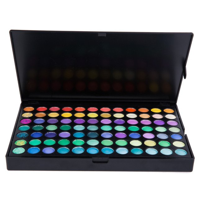 183 Kit de Maquillaje Profesional Paleta de sombras de ojos a Encantadores Colores de Sombra de Ojos Belleza de Hecho 1439495 maquiagem sombra