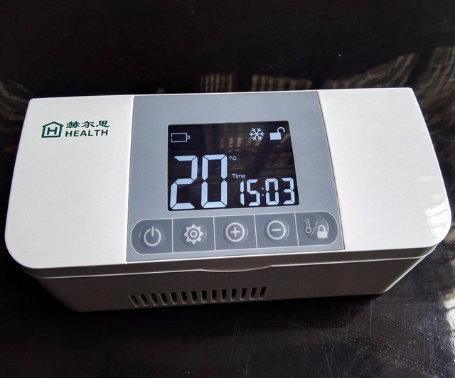 Mini Kühlschrank Für Reisen : Wiederaufladbare insulin kühlschrank tragbare outdoor reisen mini