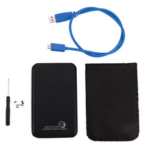 Portable 2.5 inch SATA to USB 3.0 Hard Drive Enclosure Adapter Case Support Windows 98/SE/ME/2000/XP/Vista/Win7/Win8