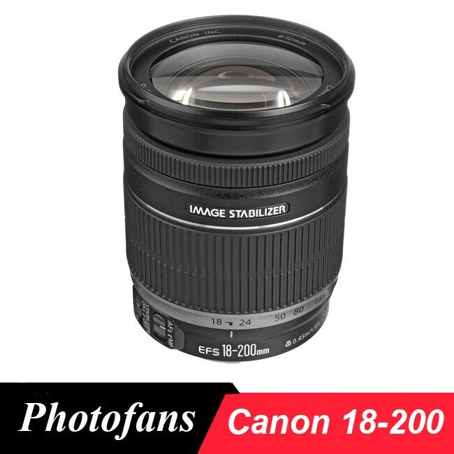 Galleria fotografica <font><b>Canon</b></font> 18-200 IS Objectif EF-S 18-200mm f/3.5-5.6 EST Lentilles pour 600D 650D 700D 750D 760D 60D 70D 80D 7D Rebel T3i T4i T5i