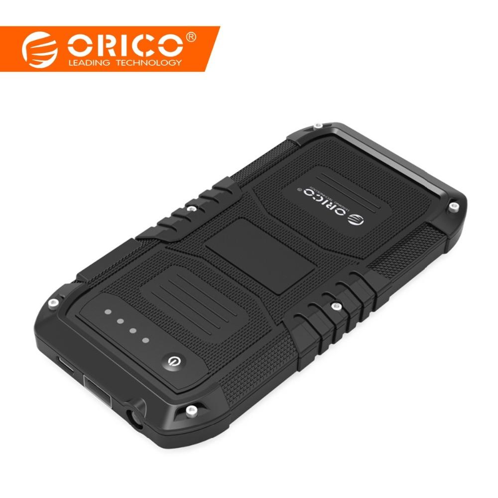 ORICO Multi-Fonction De Voiture D'urgence chargeur de batterie externe Mini alimentation mobile portable Banque 4000 mAh Booster de Départ Powerbank