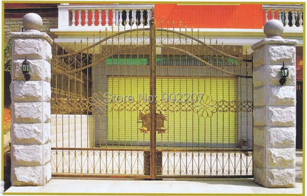 Gate Design  Metal Side Gates Outdoor Iron Gate
