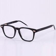 Нью-Йорк бренд предписанные оправы очков Для мужчин и Для женщин модные очки для чтения компьютерная оптическая рамка с Оригинальная коробка