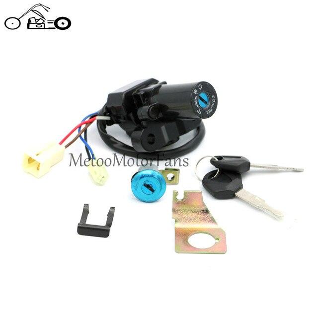 FOR Yamaha YZF R1 R6 R6S FZ6 FZ6S FZ6N FJR1300 Ignition Switch Lock Key Set