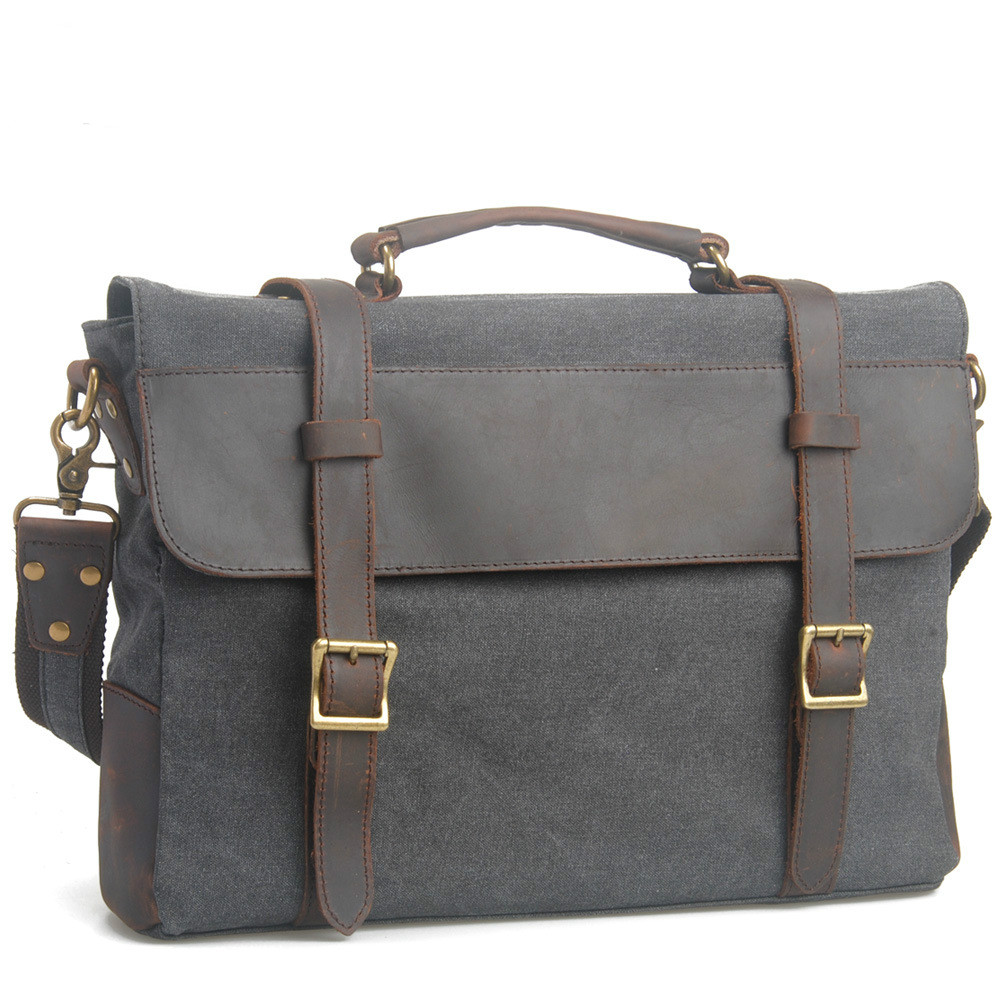 2016 Men messenger bags canvas bag men briefcase fashion designer handbags high quality famous brand business bag aosbos fashion portable insulated canvas lunch bag thermal food picnic lunch bags for women kids men cooler lunch box bag tote
