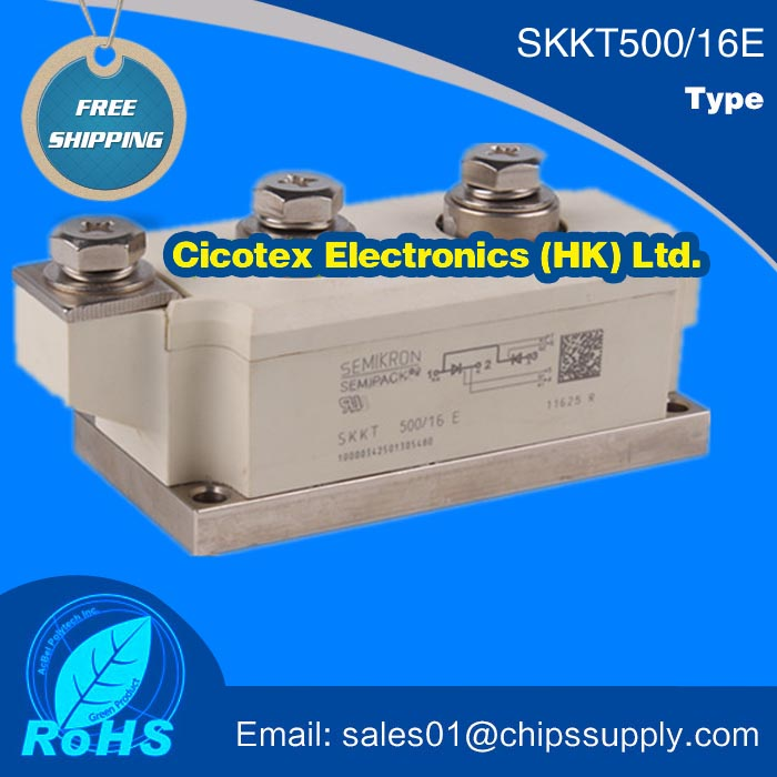 SKKT500/16E MODULE SKKT 500/16 E IGBT Thyristor Diode Modules SKKT500-16ESKKT500/16E MODULE SKKT 500/16 E IGBT Thyristor Diode Modules SKKT500-16E