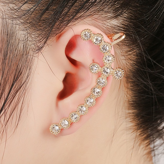 The High End Fashion All Match Clip Earrings Ear Jewelry S