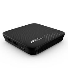 100% Oringnal MECOOL M8S PRO DDR4 Android 7.1 Octa Core S912 inteligente WIFI TV BOX 4 K Películas Inteligente Cuadro de TV Android Medios jugador