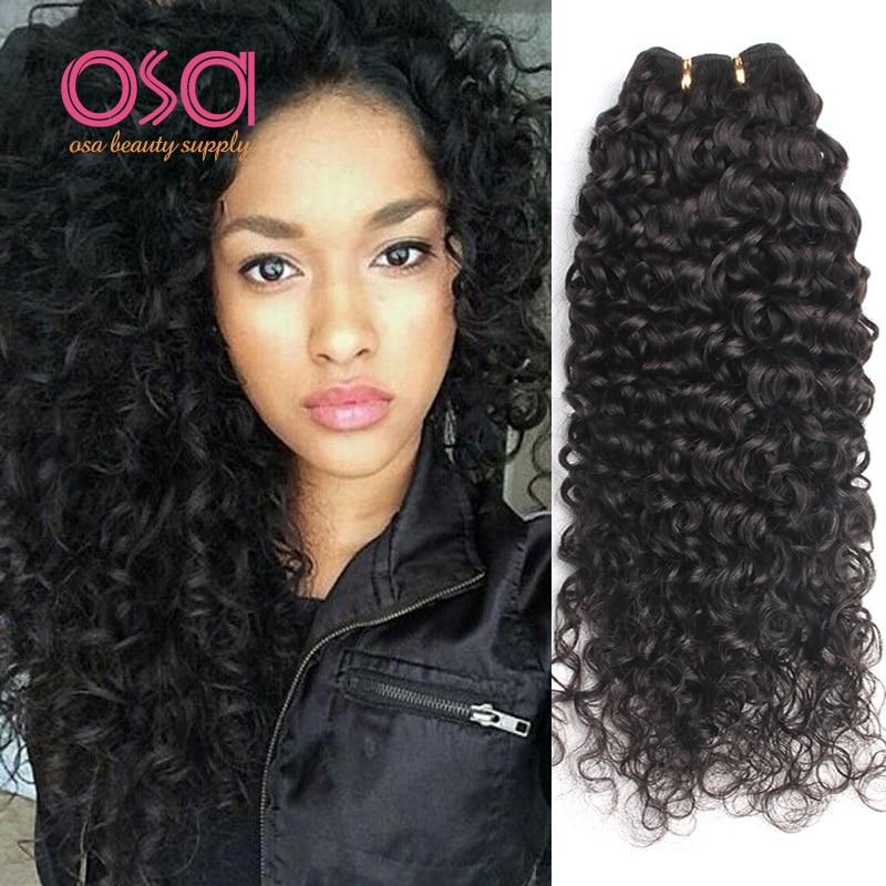 Hair Weaving  Hair Weaving: Brazilian Virgin Hair Curly Weave Human Hair 3 Bundle Deals Cheap Loose Curly Wet And Wavy Virgin Brazilian Hair Weave Bundles