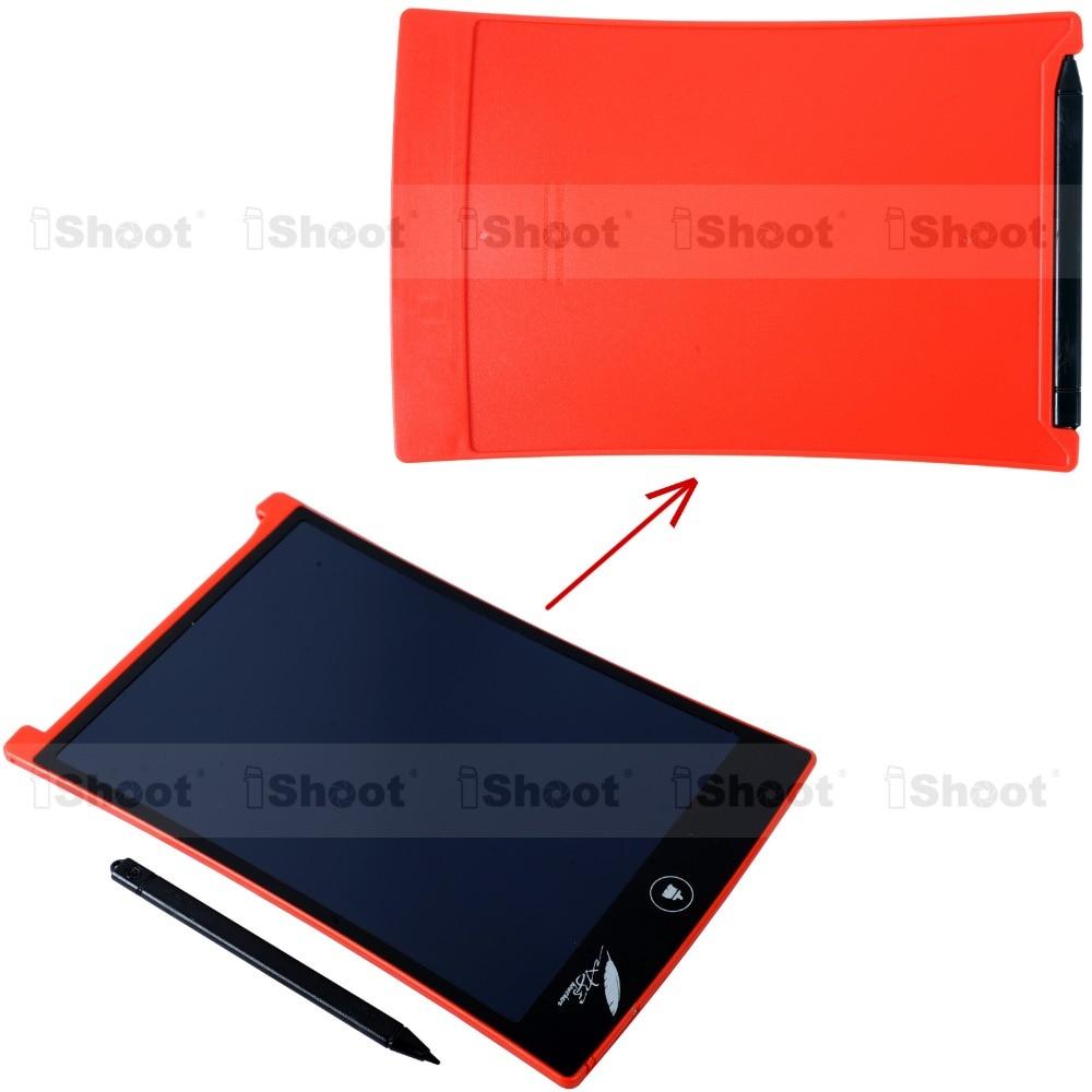 """Kırmızı Taşınabilir 8.5 """"LCD Bloknot Not Defteri Elektronik Kalem Çizim Grafik Tablet Dijital El Yazısı El Yazısı Kurulu-YENI"""