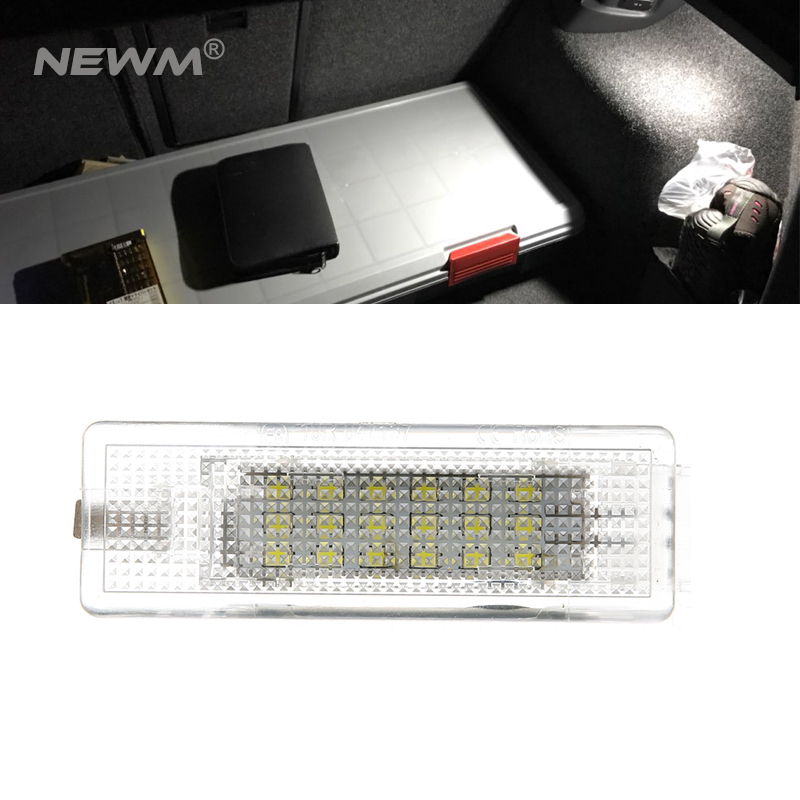 2018 New 1PC 18 SMD LED Lamp Car Trunk Luggage Compartment White Light For VW Golf 4/5/6 Polo for volkswagen passat b6 b7 b8 led interior boot trunk luggage compartment light bulb