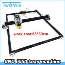 65*50cm taille de travail 15W grande Machine de CNC de puissance gravure Laser, CNC Machine de marquage de gravure Laser, Machine de découpe Laser bricolage