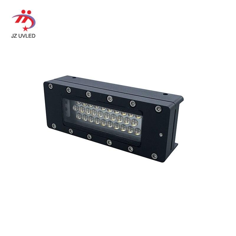 Işıklar ve Aydınlatma'ten UV JEL Kür Işıkları'de 7020COB UV led mürekkep jel kür lambaları için Ricoh GH2220 baskı kafası Sljet UV flatbed yazıcı ultraviyole LED ışıkları mürekkep tedavi title=